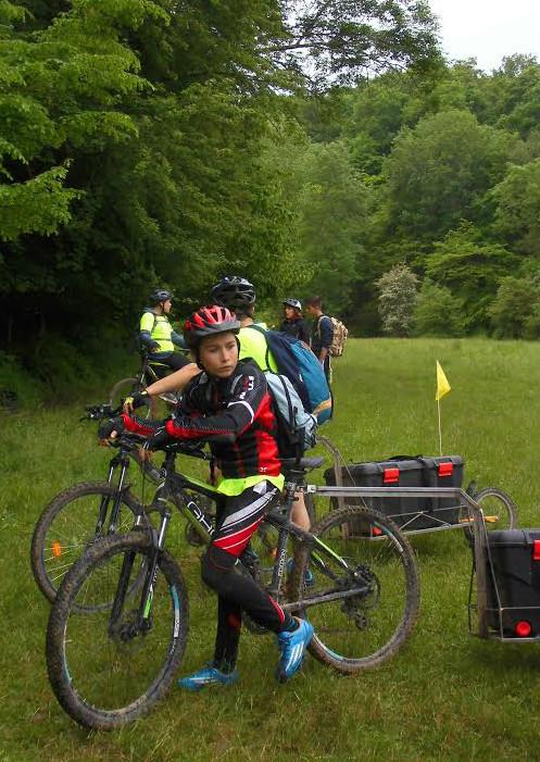 Le voyage à vélo du collège de l'Albarine