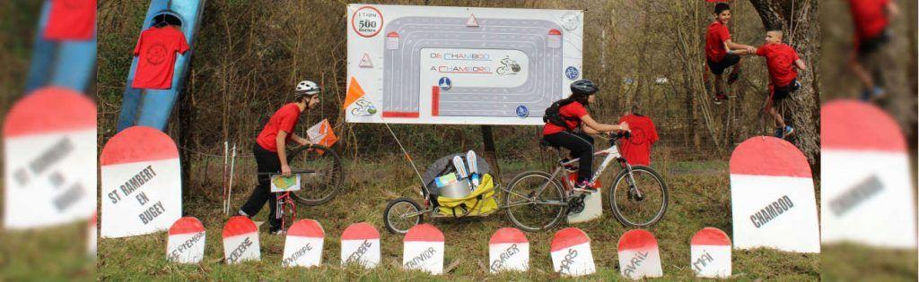 De Chambod à Chambord: «l'enjeu des 500 bornes» à vélo contre l'échec scolaire