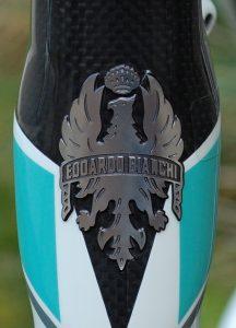 Badge de la marque Bianchi