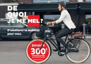 Subvention vélo jusqu'à 300 € avec la MEL