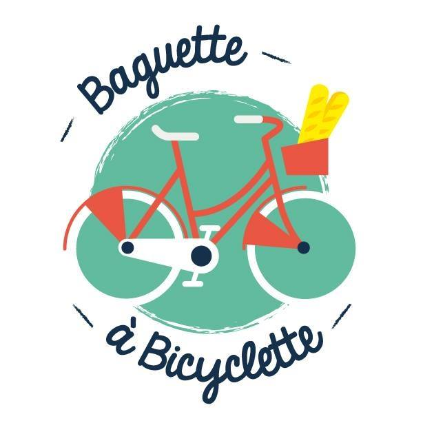 Baguette à bicyclette à Lyon