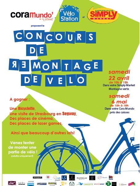 Concours de remontage vélo