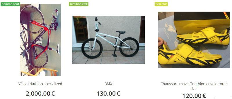 Trouver un vélo d'occasion