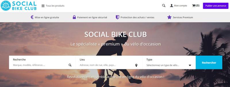 Social Bike Club la plateforme du vélo d'occasion