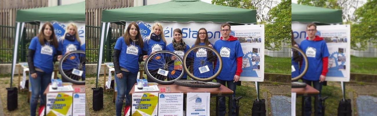 Strasbourg : VéloStation vous met au défi !