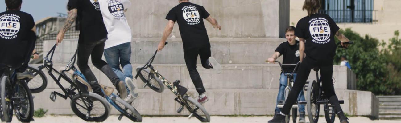 «Flat Mob», un nouveau record du monde en BMX flat, pour les 20 ans du FISE