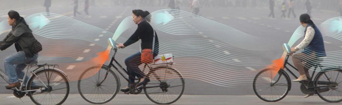 Un vélo qui dépollue l'air pour son utilisateur!