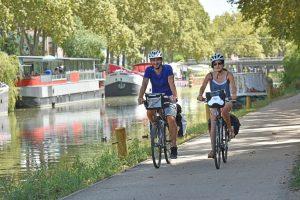 Itinéraire cyclable le long du Canal du Midi