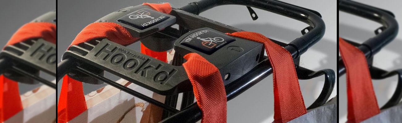 Hook'd : une nouvelle façon de transporter ses courses à vélo