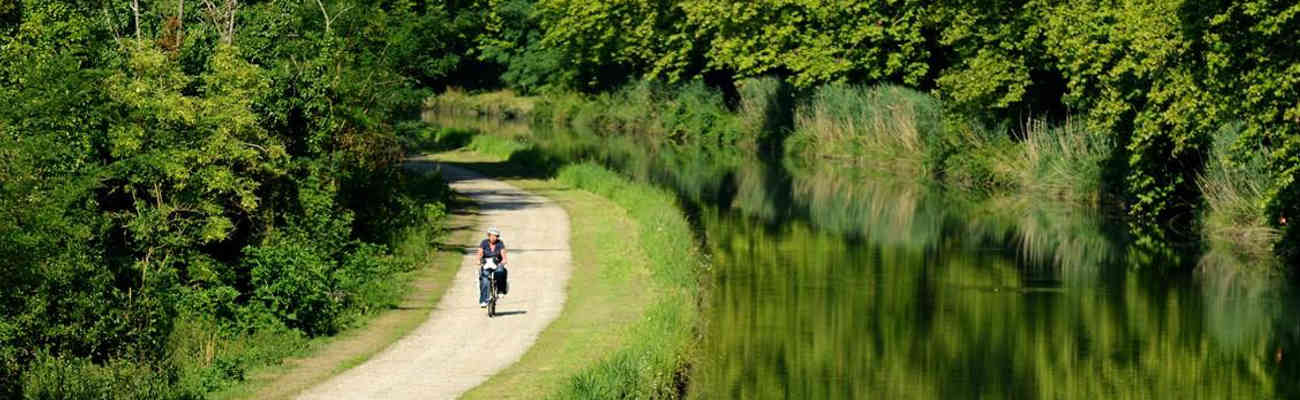 Le Canal des Deux Mers à vélo
