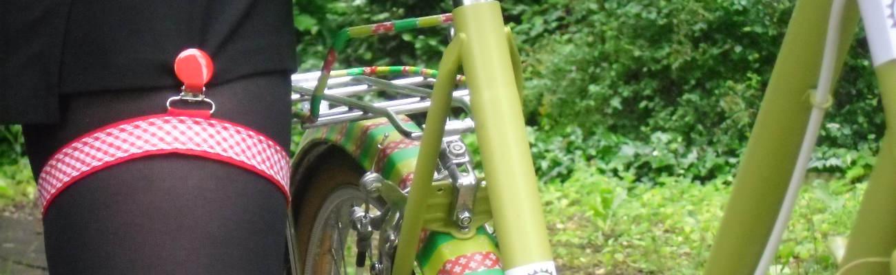 «Les filles à vélo» et «les gars à vélo», des accessoires made in Alsace pour les cyclistes urbains