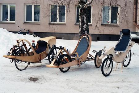 Des vélos uniques et surprenants