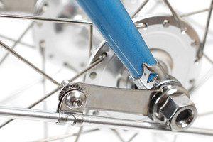 Kit de montage garde boue pour vélo sans trous filetés