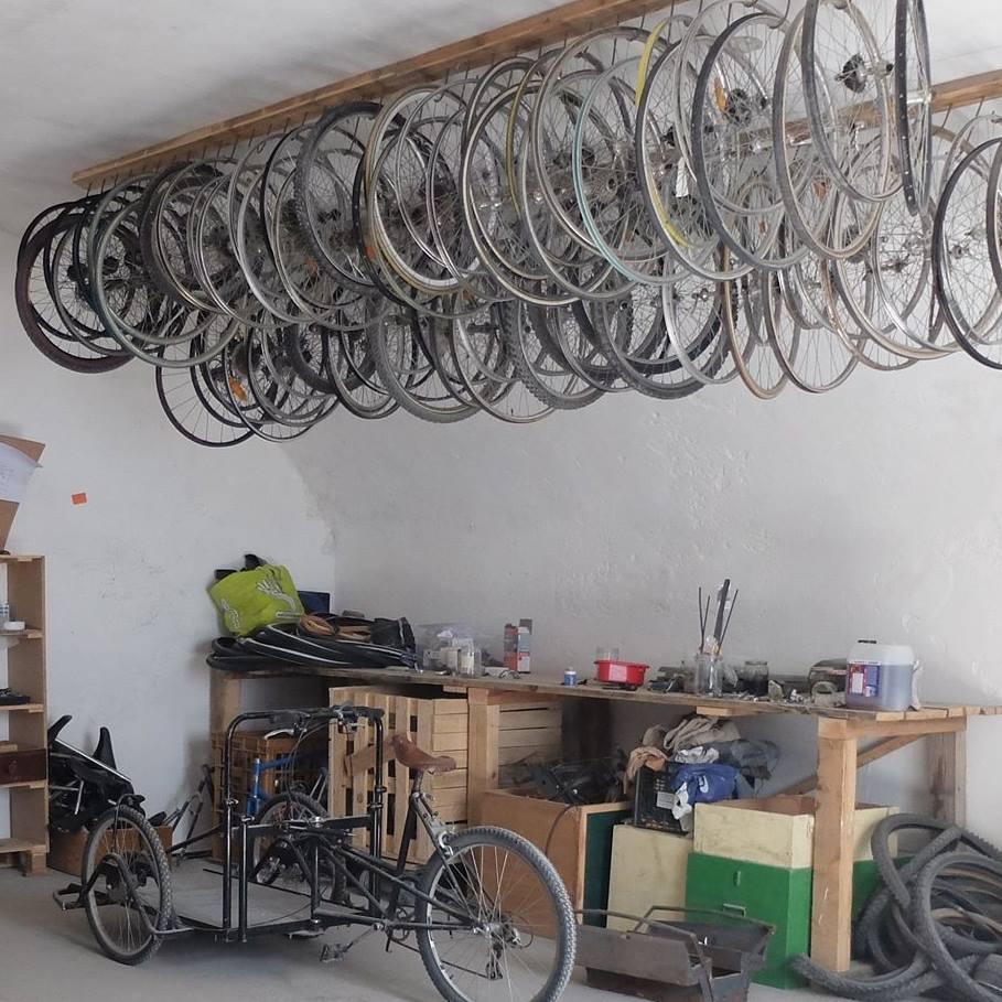 Atelier cyclonique à Briançon