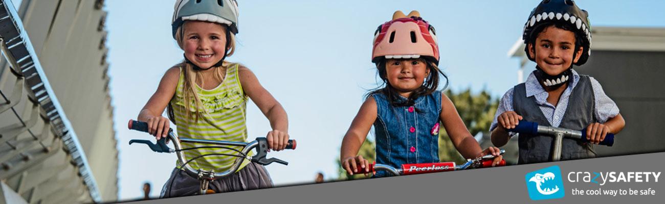 Crazy Safety, cette marque de casques vélo enfant qui révolutionne le genre !