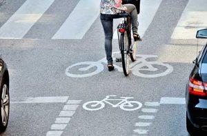 Les SAS vélo dans le code de la route