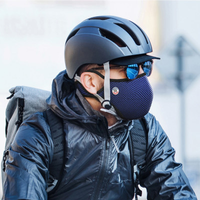 masque anti-pollution frogmask vélo