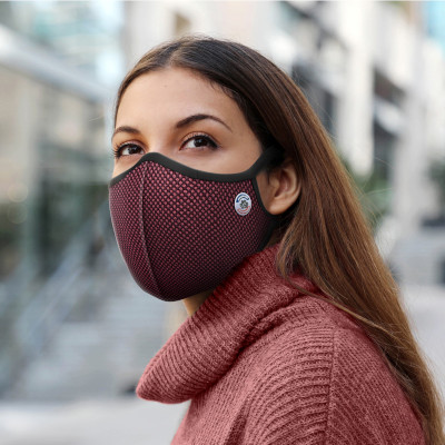 masque anti-pollution cycliste