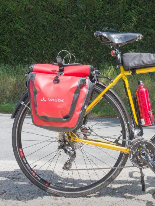 Sacoche de vélo pour cyclotourisme