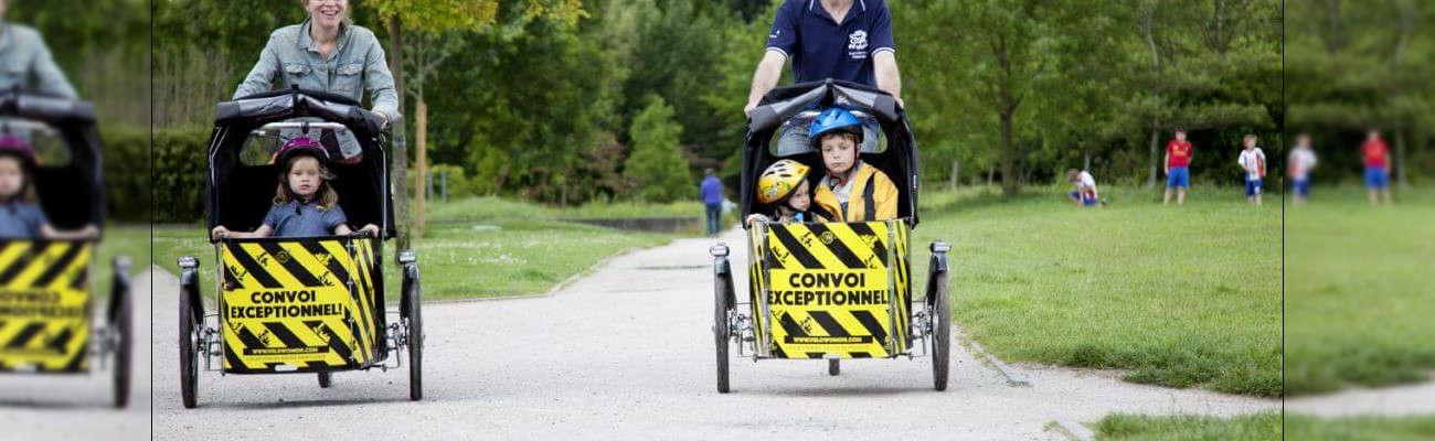 Vélowomon : «Proposer des solutions de mobilité durable à vélo en famille»