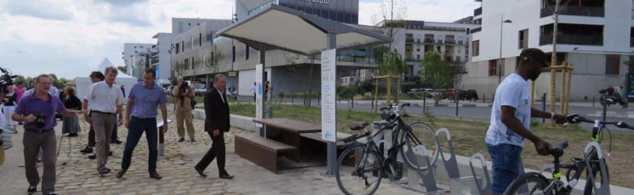 L'aire cycliste a ouvert ses portes à Choisy Le Roi!