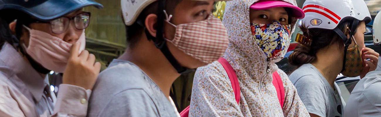 Comment les masques anti-pollution protègent le cycliste contre les particules fines ?