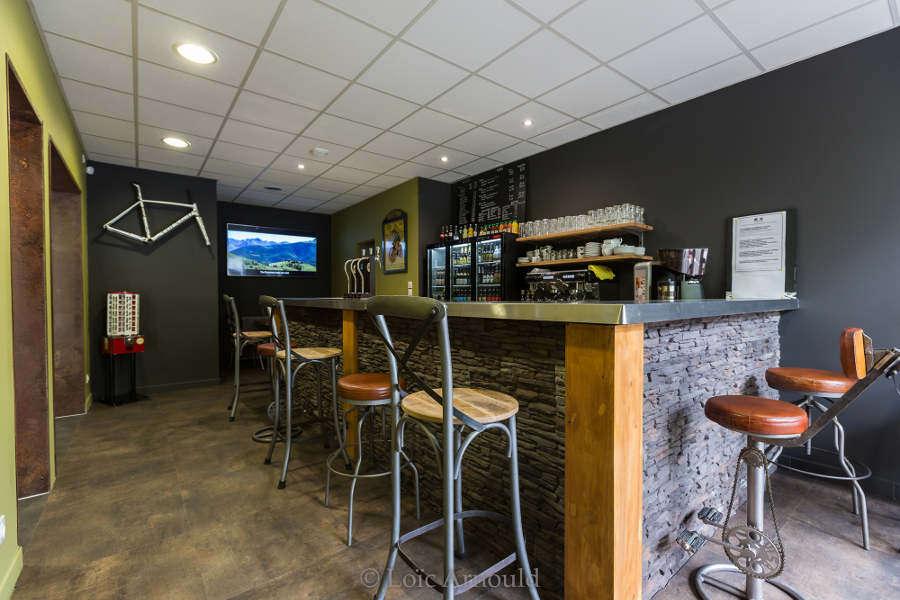 Café vélo à Lourdes