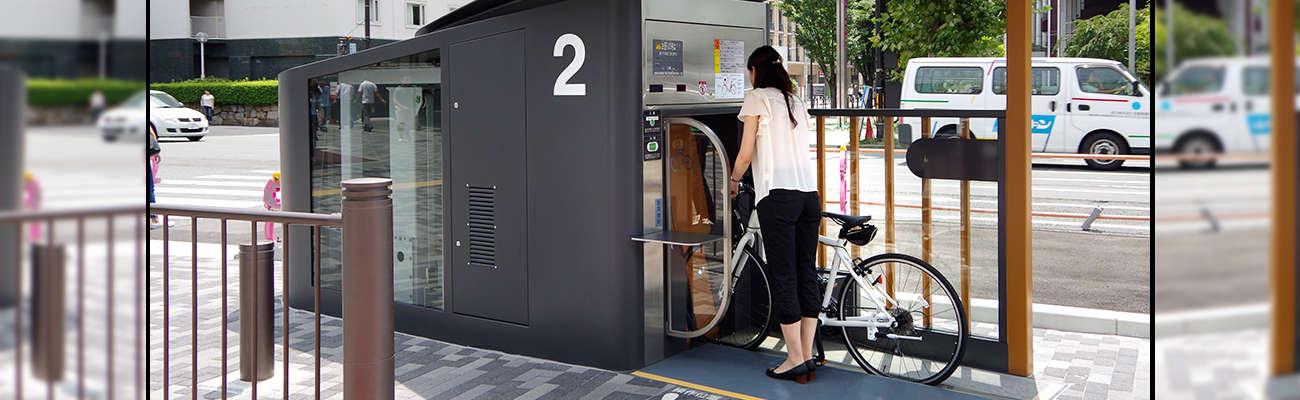 ECO-Cycle Park: Un parking à vélos souterrain entièrement automatisé !
