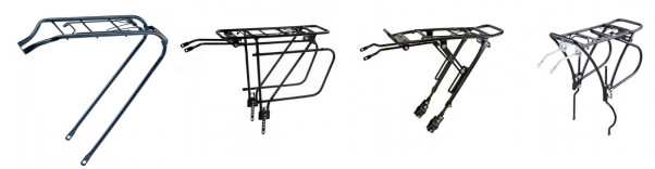 Porte-bagages arrière de vélo
