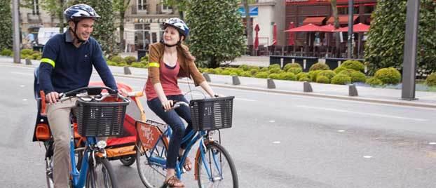 Faire du vélo à Nantes