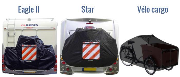 Les différents modèles de bâche de protection vélo