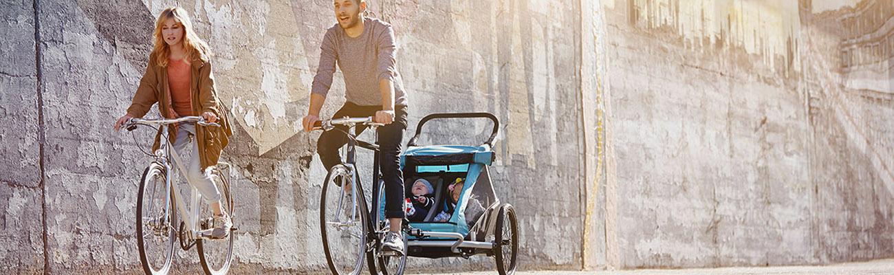 Remorque vélo, quel siège bébé choisir  ?