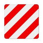 Plaque de signalisation pour housse de vélo