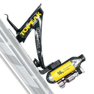 Accessoires vélo Topeak le rangement pour 2 cartouches C02 Ninja
