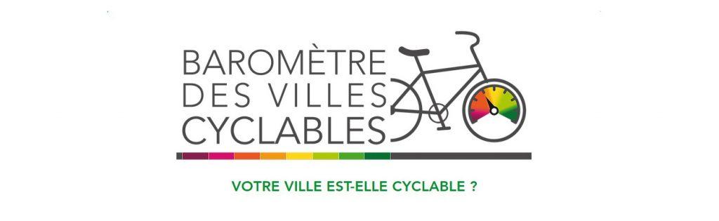 Baromètre des villes cyclables participez au sondage cycliste