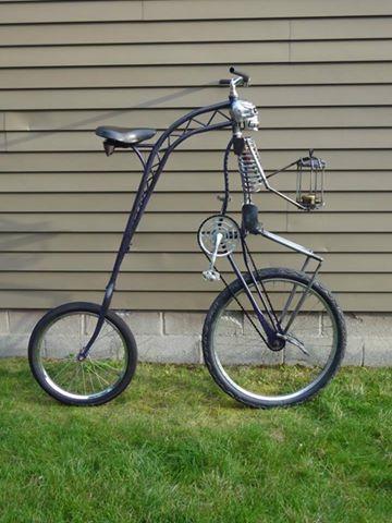 Vélos insolites : Un vélo parfait pour Halloween