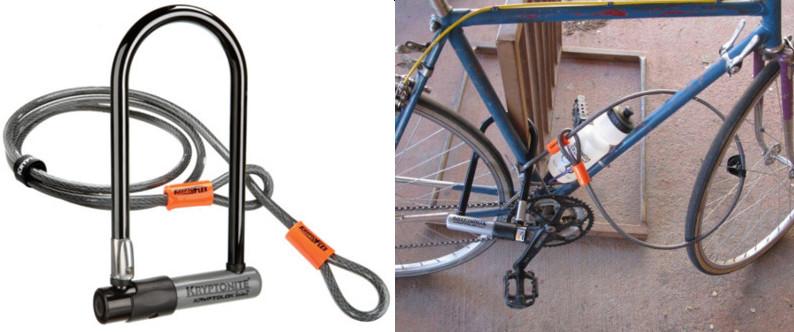Protéger son vélo avec antivol vélo Kryptonite