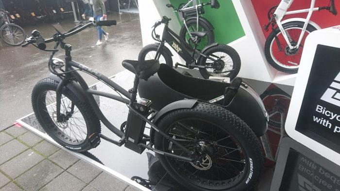 Vélo original vu à l'Eurobike