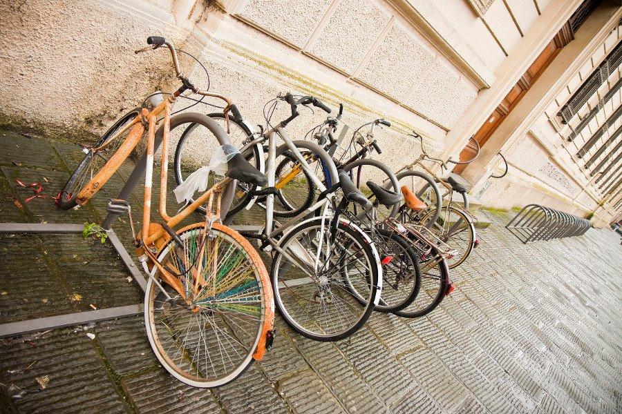 Stationnement vélo en extérieur