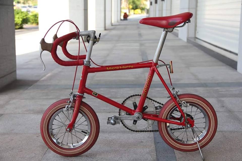 Vélos insolites : Un mini vélo de course