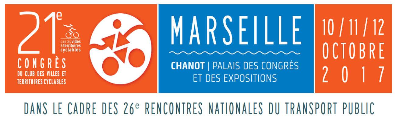 Le 21ème congrès de la mobilité à Marseille du 10 au 12 octobre