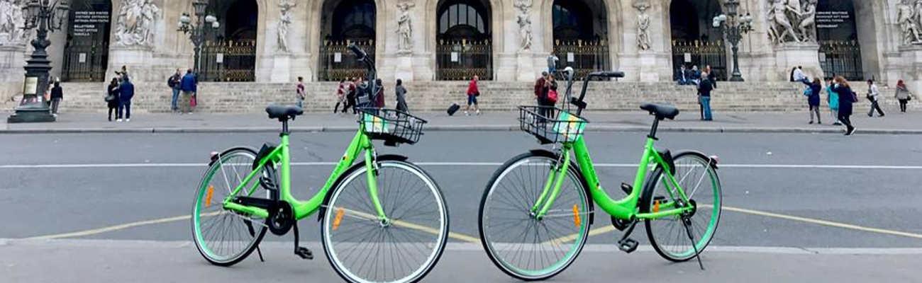 Après Lille, le service de VLS Gobee.bike pose sa béquille à Paris