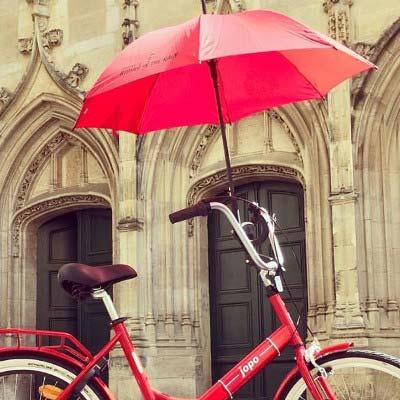 Le porte-parapluie Popins, un cadeau velo original