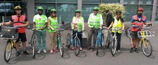 Vélo-école de l'atelier vélo à Gennevilliers