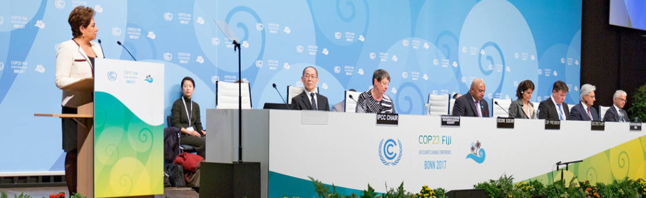 COP23 : nous sommes bien loin des objectifs fixés lors des accords de Paris
