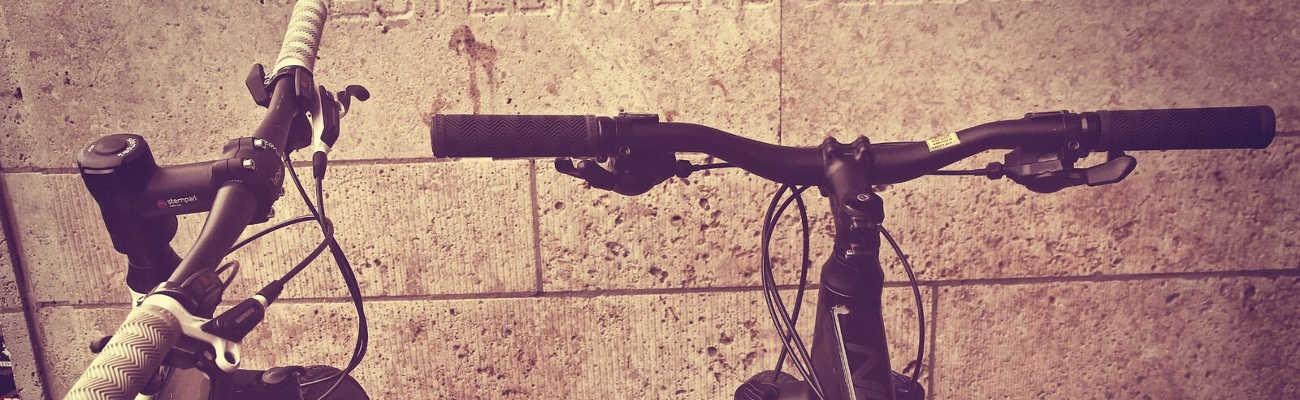 Stempark, un système intégré pour réduire l'encombrement du vélo