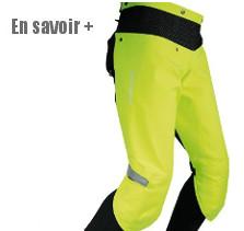 Protection pluie pour les jambes à vélo
