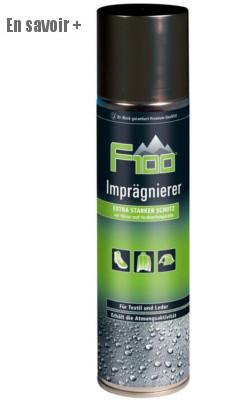 Spray imperméabilisant pour textile et cuirs