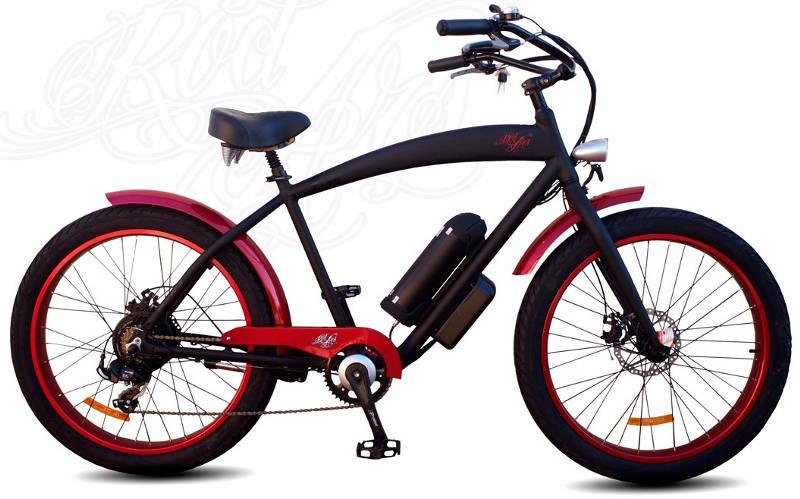 Un vélo électrique Cruise Fat