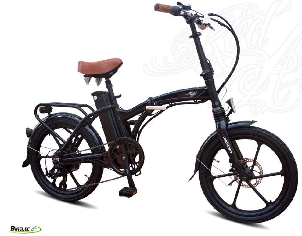 Vélo électrique pliable compact
